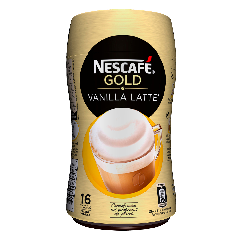 Café soluble natural vainilla latte