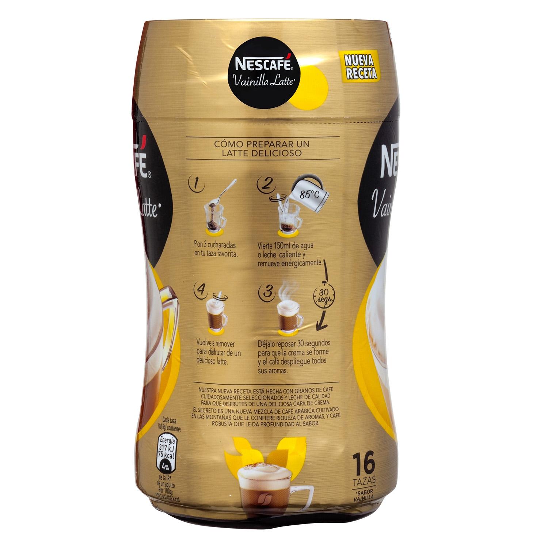 Café soluble natural vainilla latte - 3