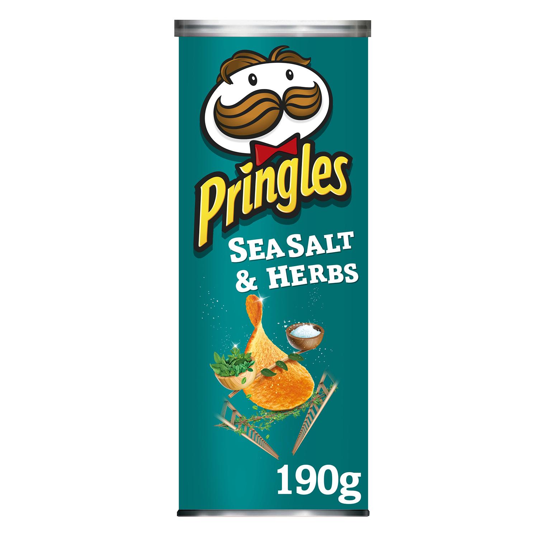 Aperitivo de patata sabor sal y especias Pringles 190 g.