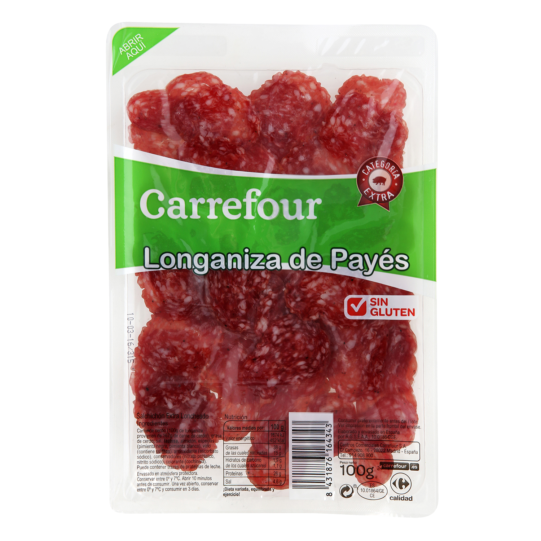 Longaniza payés - Sin Gluten