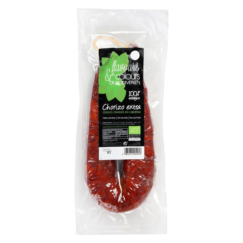 Chorizo extra ecológico sarta Flavours and Colours 280 g