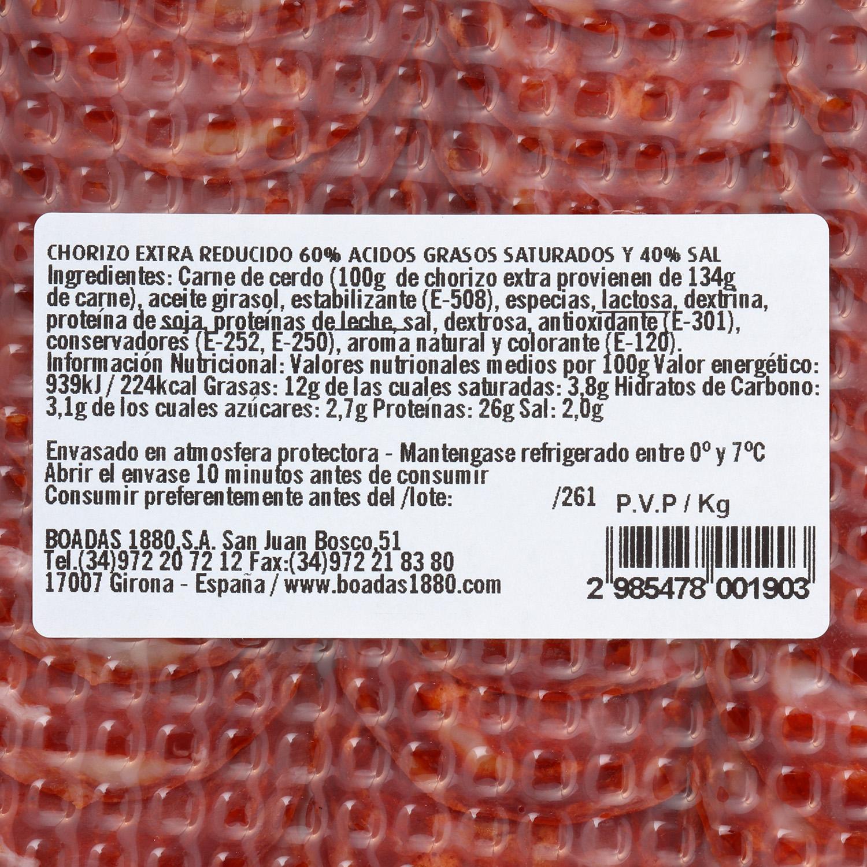 Chorizo extra reducido - 3