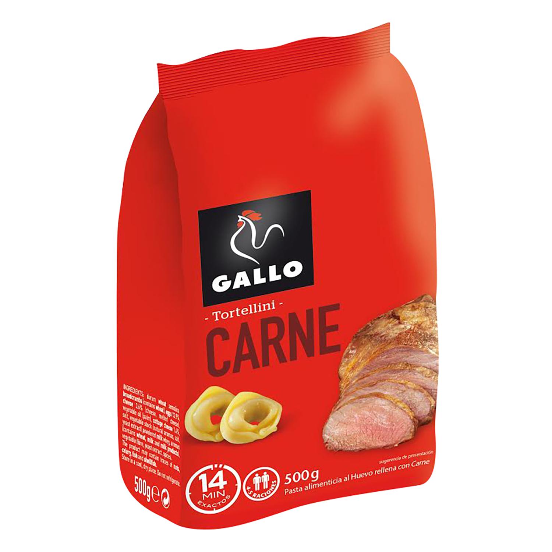 Tortellini de carne Gallo 500 g.