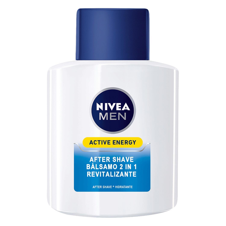 Bálsamo After Shave Active Energy Revitalizante Nivea Men 100 ml. -