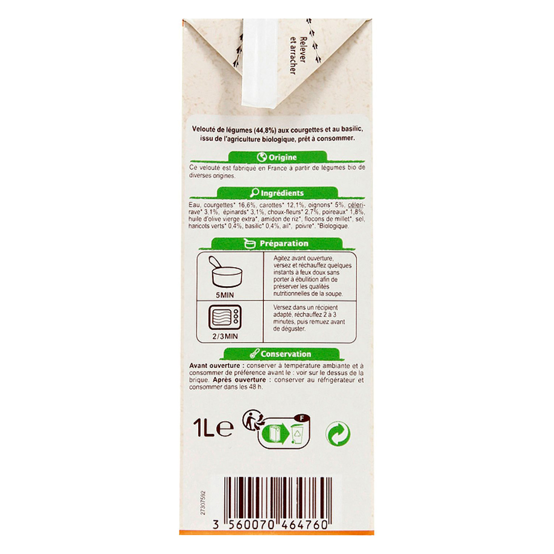 Crema de calabacín y albahaca - 3