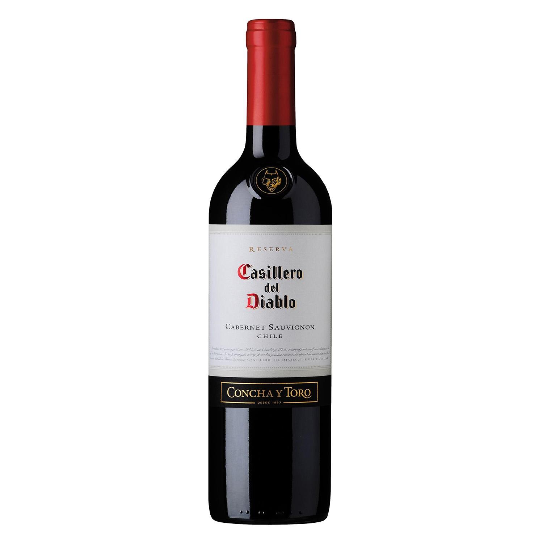 Vino chileno Cabernet Sauvignon tinto Casillero del Diablo 75 cl.