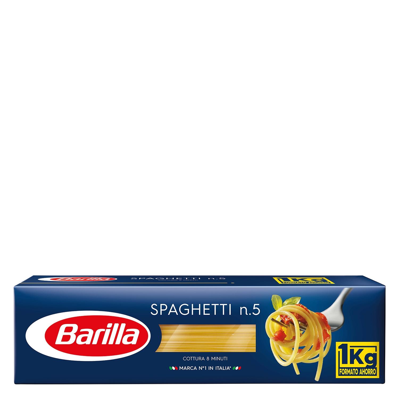 Spaghetti Barilla nº5 1 kg.