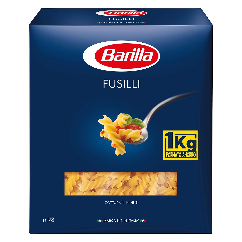 Fusilli Barilla 1 kg.