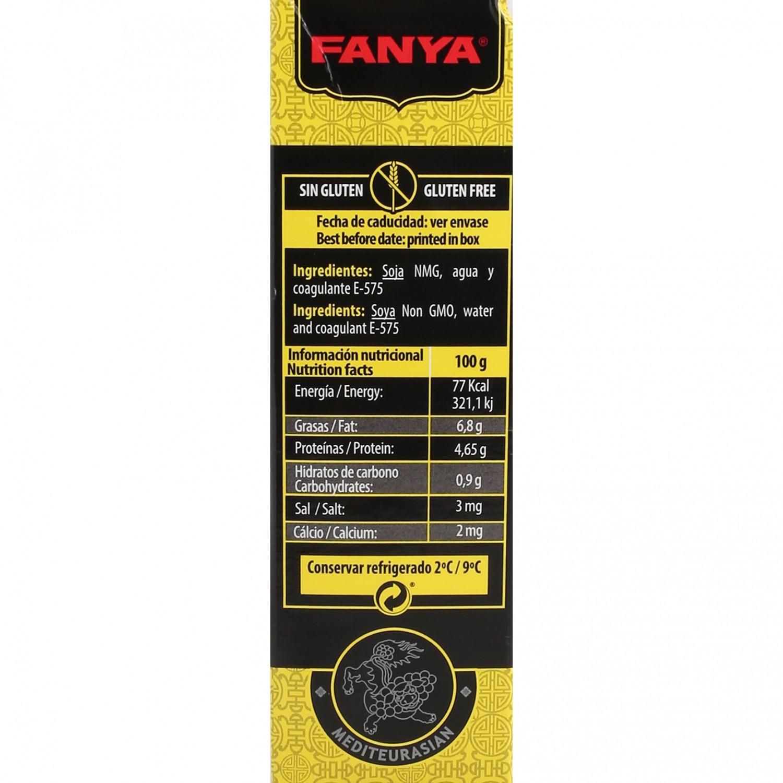 Proteina vegetal de soja (tofu) Fanya 130 g - 3