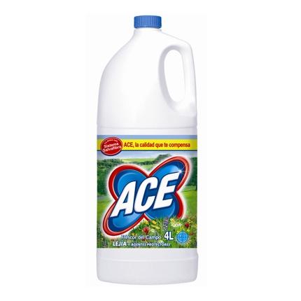 Lejia para ropa perfumada Ace 4 l.