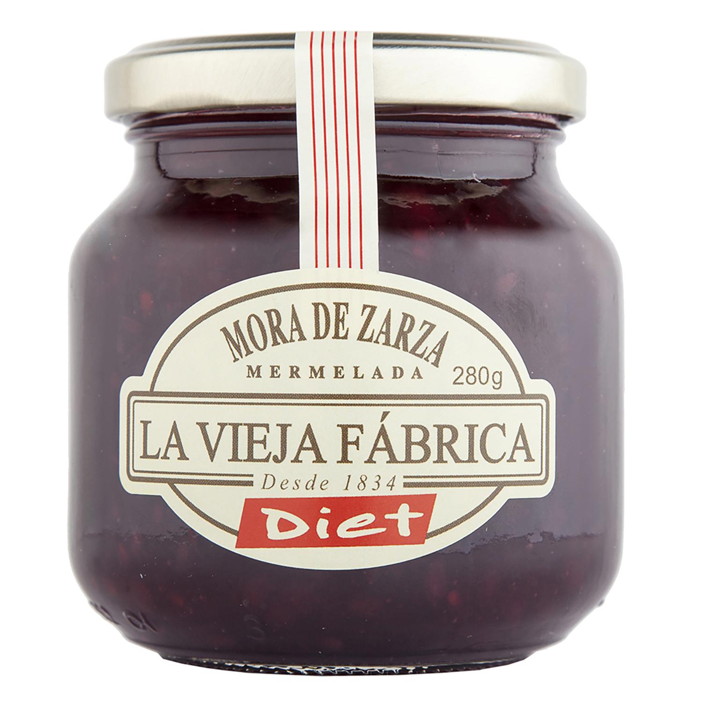 Mermelada de mora Diet La Vieja Fábrica 285 g.