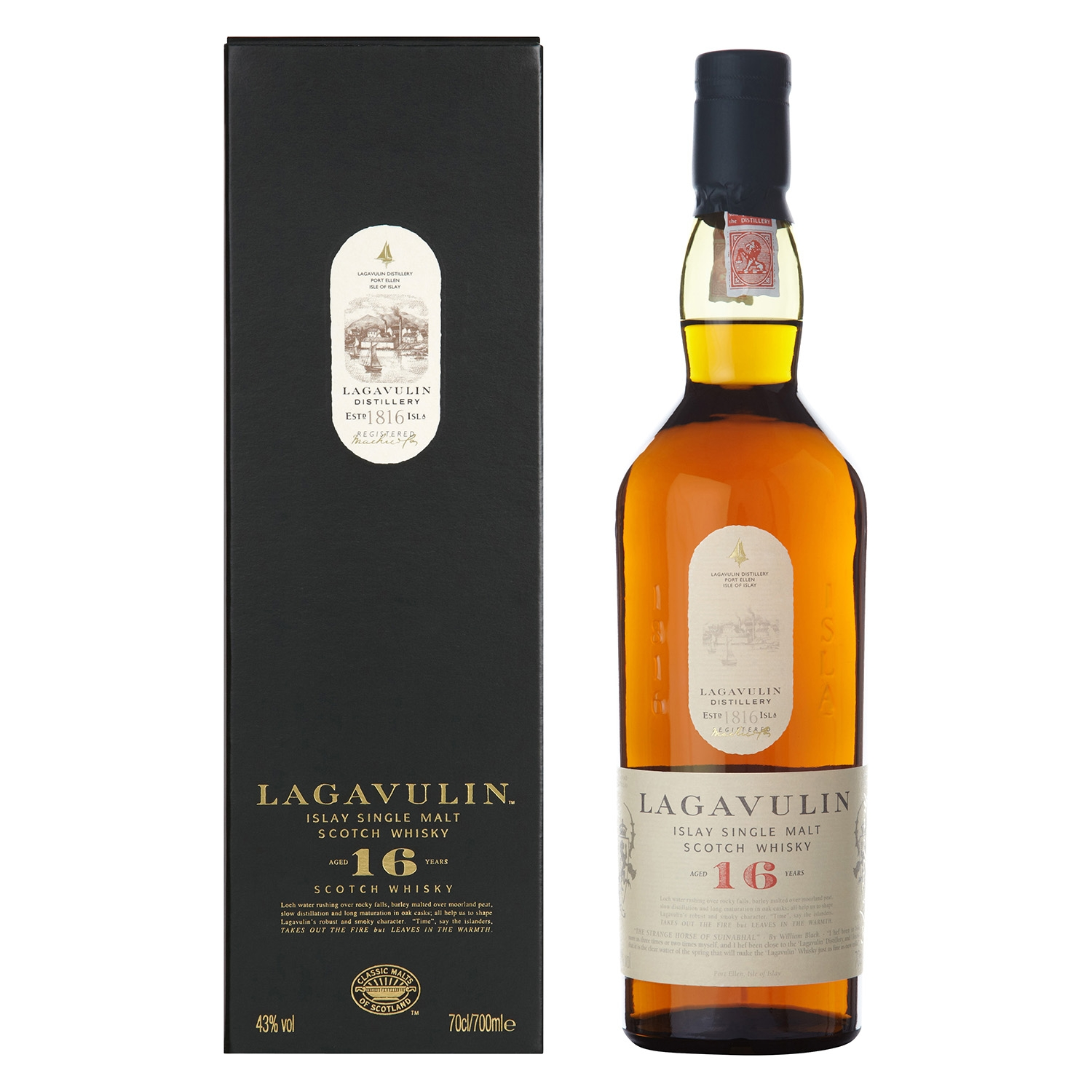 single malt scotch whisky de 16 a os lagavulin carrefour supermercado compra online. Black Bedroom Furniture Sets. Home Design Ideas