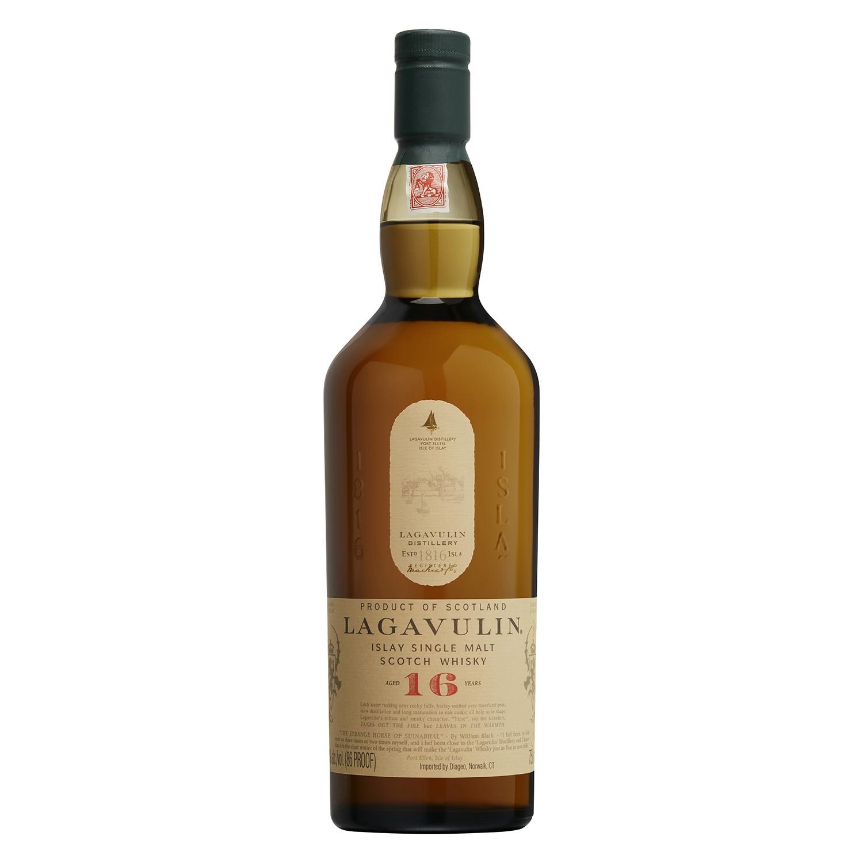 Whisky Lagavulin escocés 16 años 70 cl. -