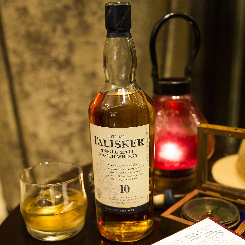 Whisky Talisker escocés 10 años 70 cl. - 2