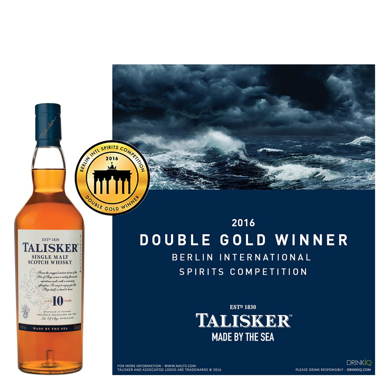 Whisky Talisker escocés 10 años 70 cl. - 3