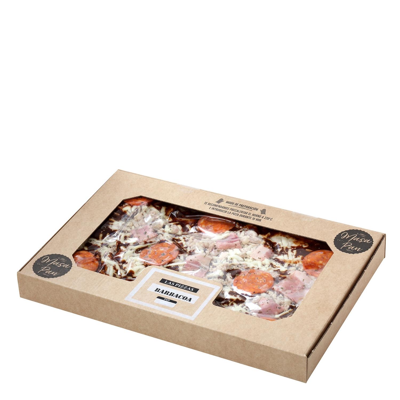 Pizza masa pan pollo bbq - 2