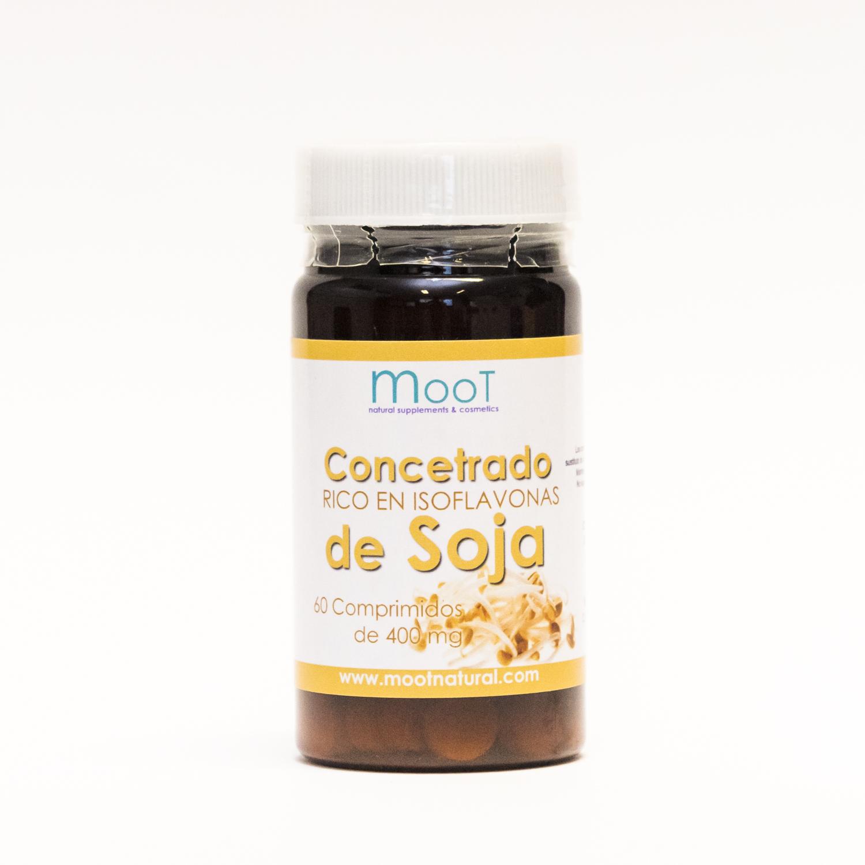 Concentrado de soja Moot 60 ud.