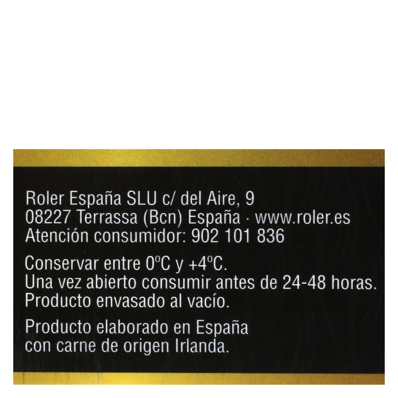 Hamburguesa Ternera Lechal Sin Aditivos Roler (2x150g) 300 g - 4