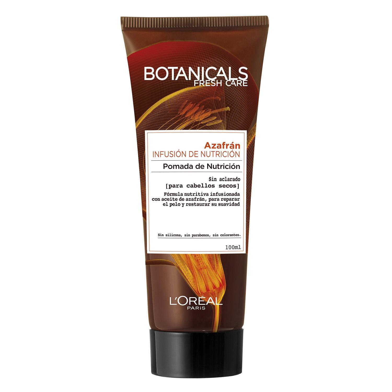 Pómada de Nntrición azafrán para cabellos secos L'Oréal Botanicals 100 ml.