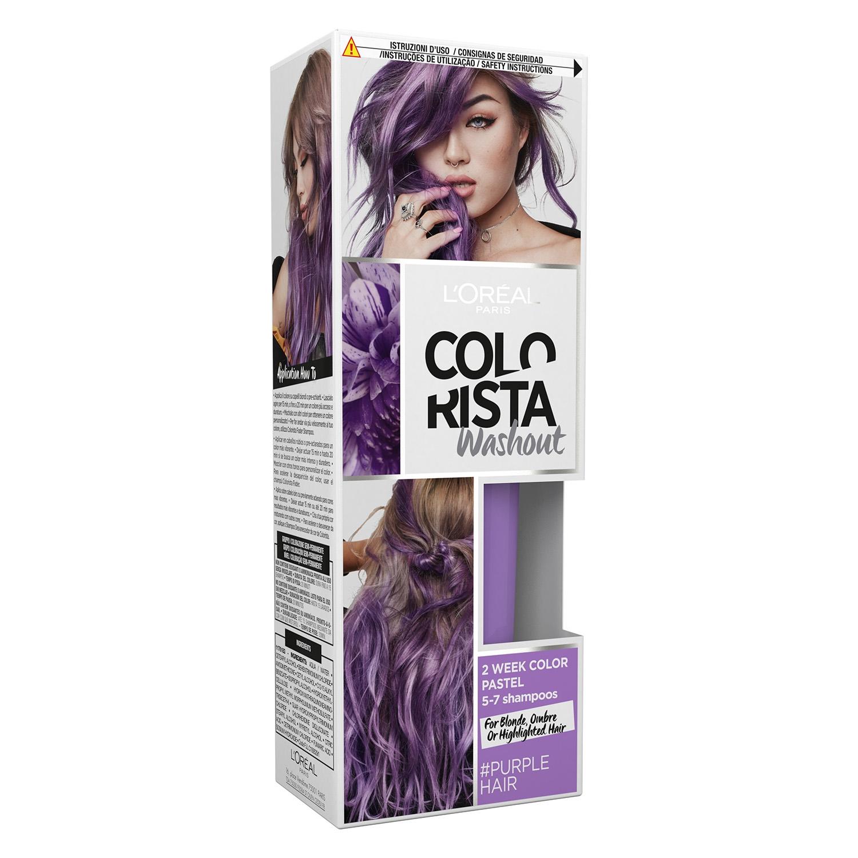 Tinte Colorista Washout Purple L'Oréal 1 ud.