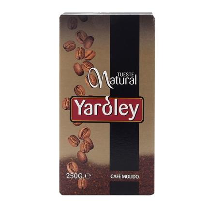 Café molido natural Yaroley 250 g.
