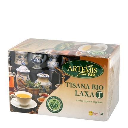 Tisana laxa en bolsitas ecológica Artemísbio 20 ud.