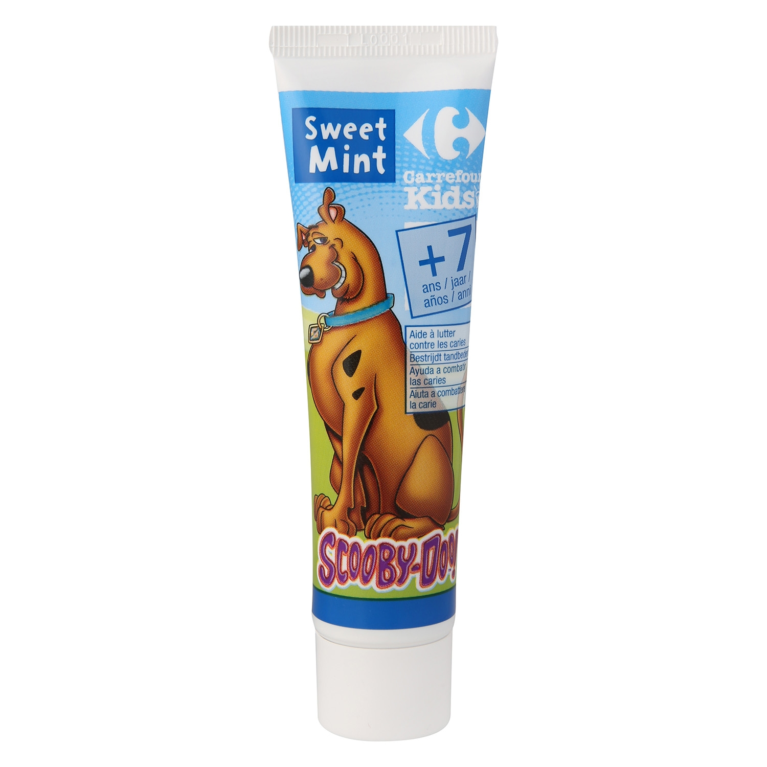 Dentífrico sweet mint + 6 Carrefour Kids 50 ml.