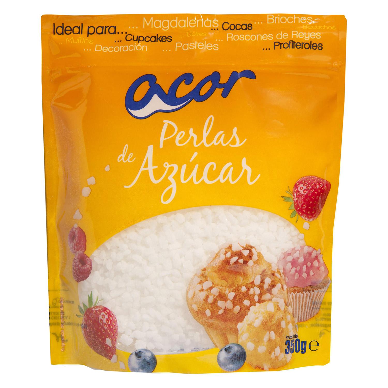 Perlas de azúcar