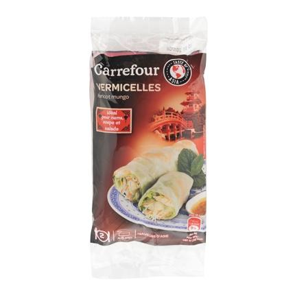 Fideo de soja Carrefour 100 g.