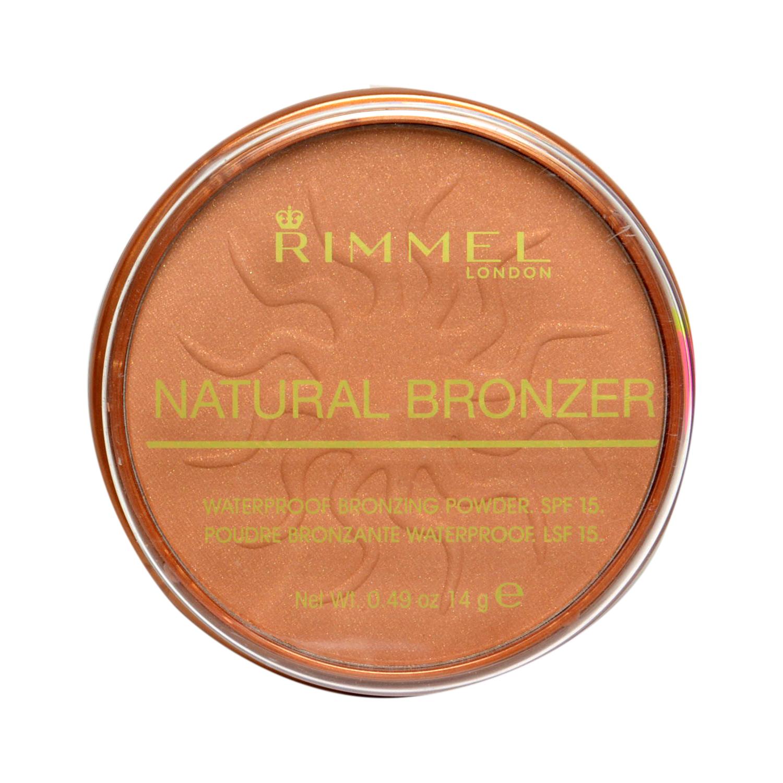 Polvos Natural Bronzer Waterproof bronzing powder SPF15