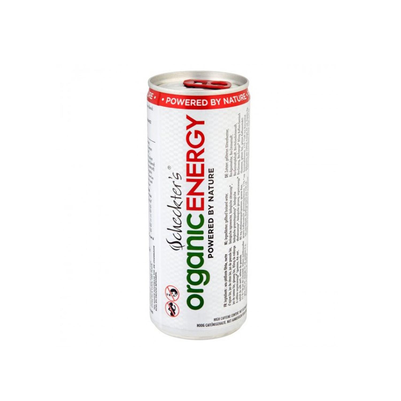 Bebida energética Scheckter's Powered by Nature