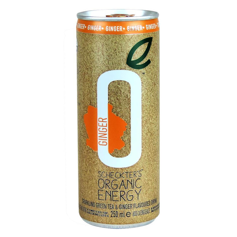 Bebida energética ecológica Scheckter's Orgánica Ginger 25 cl.