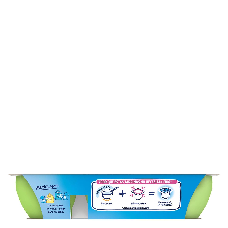 Postre de manzana y pera Nestlé Iogolino pack de 6 unidades de 60 g. - 3