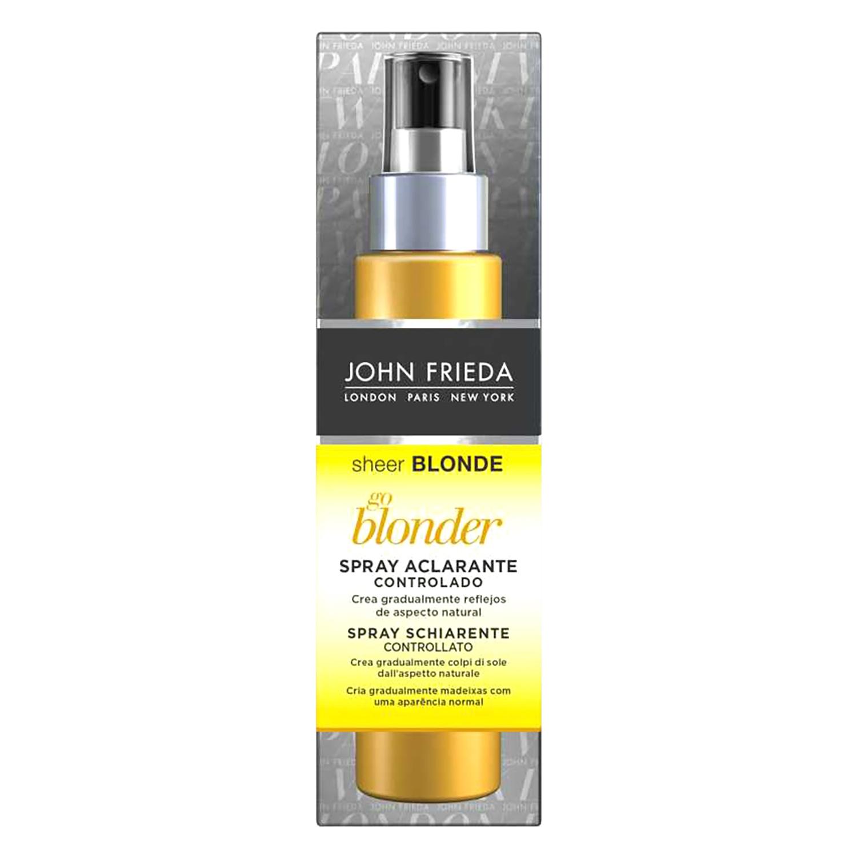Spray  aclarante para cabello rubio