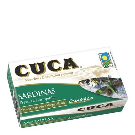 Sardinas aceite oliva virgen extra Ecológico