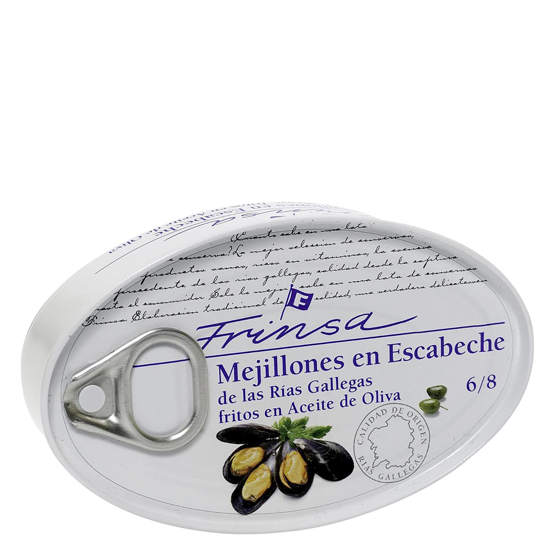 Mejillones en escabeche de las rias gallegas