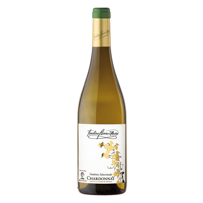 Vino de la Tierra de Castilla blanco Chardonnay Vendimia Seleccionada