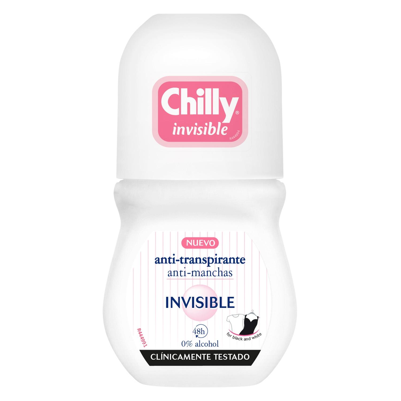 Desodorante roll-on invisible 24h. 0% alcohol