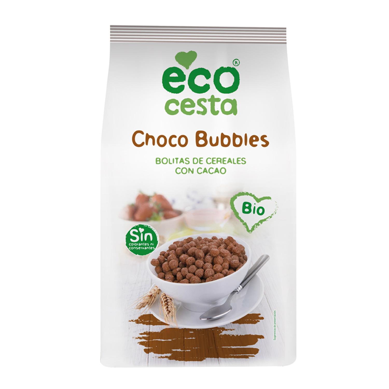 Cereales con cacao ecológicos Ecocesta 375 g.
