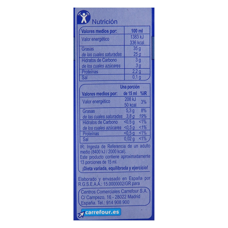 Nata para montar Carrefour líquida 200 ml. - 3