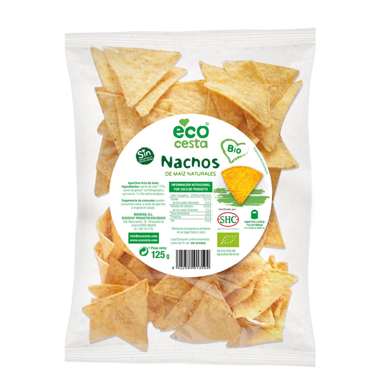Nachos de maiz naturales bio
