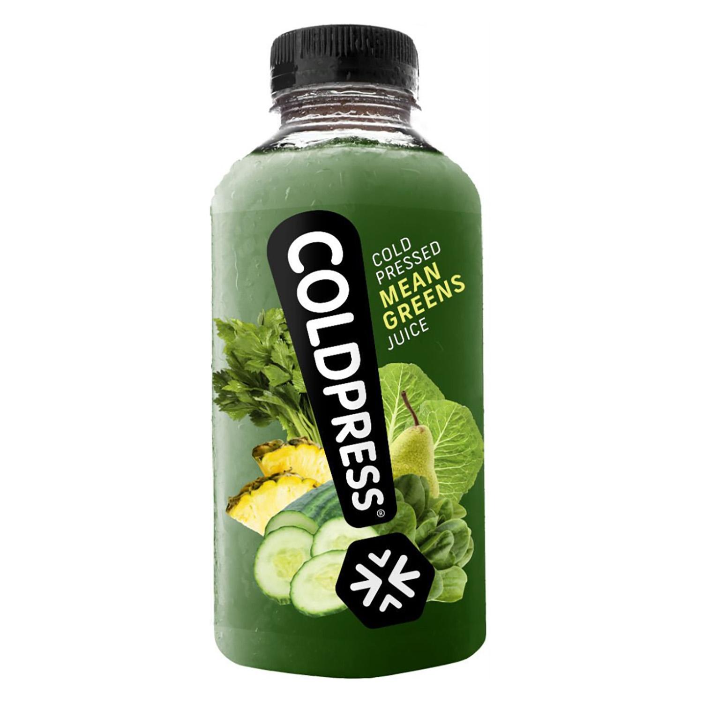 Zumo Coldpress verde botella 50 cl.
