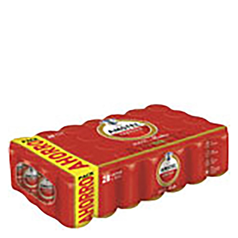 Cerveza Amstel 100% malta pack de 28 latas de 33 cl.