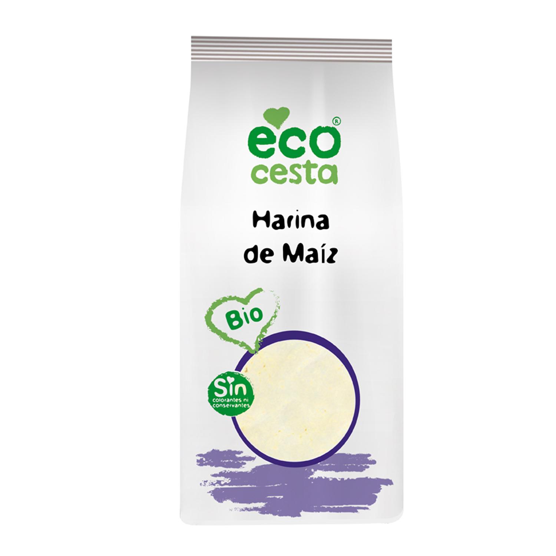 Harina de maíz ecológica Ecocesta 500 g.