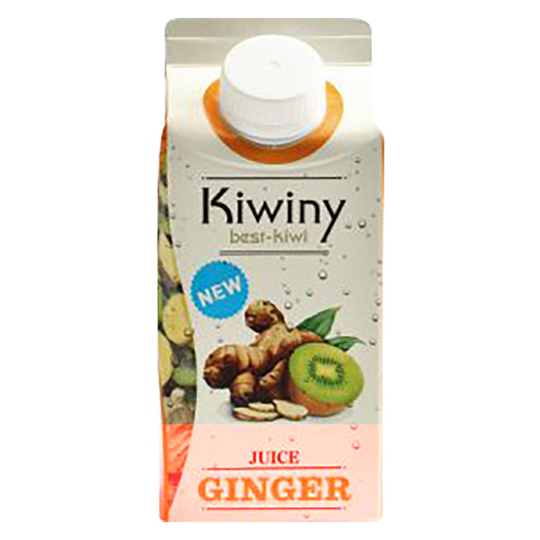 Zumo de kiwi y jengibre ecológico Kiwiny brik 33 cl.