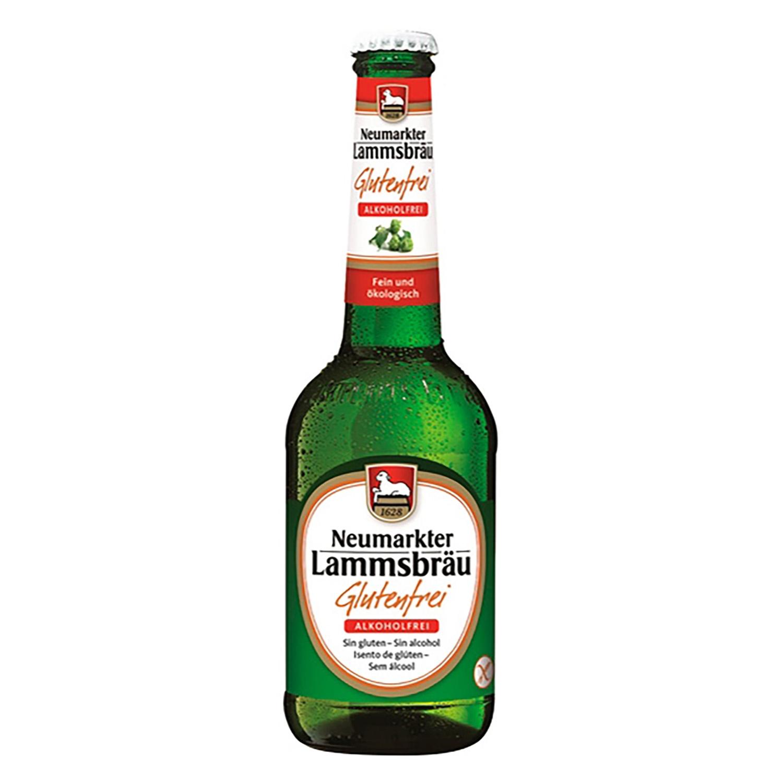 Cerveza ecológica Lammsbräu sin alcohol y sin gluten botella 33 cl.