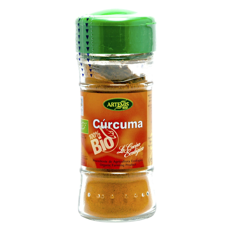 Cúrcuma ecológica Artemísbio 85 g.