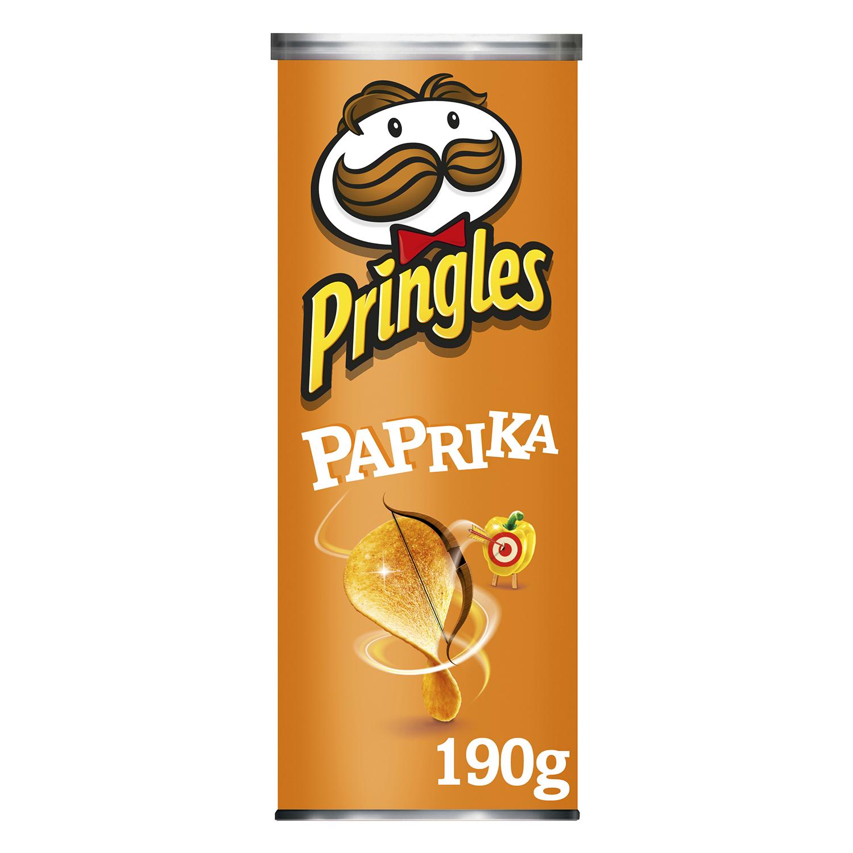 Aperitivo de patata sabor pimentón Pringles 190 g.