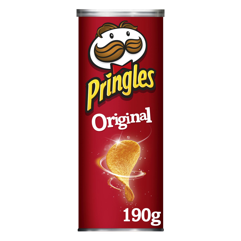 Aperitivo de patata original Pringles 190 g.