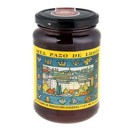 Miel de flores cecológica Pazo de Lusio 500 g.